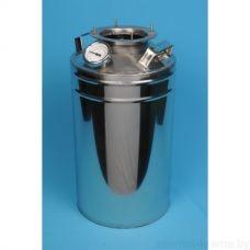 """Дистиллятор """"Умелец"""" фланцевый с вертикальной царгой с банкой-сухопарником на 20 литров"""
